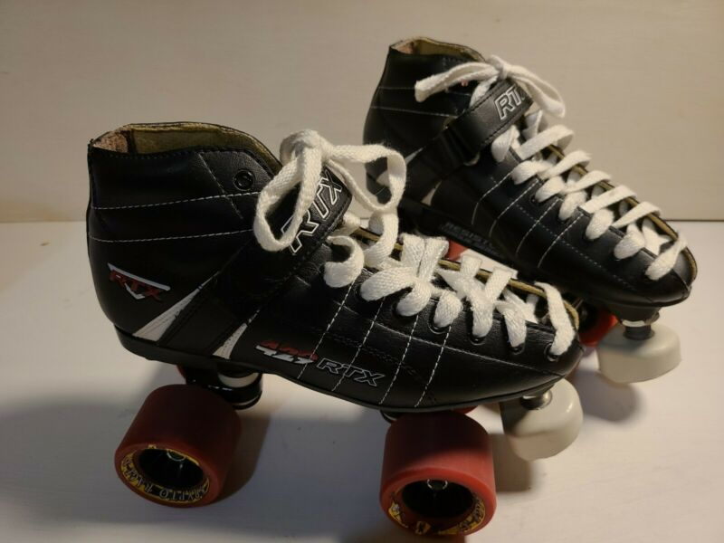 Vintage RTX 429 Resistor Torque Series Roller Derby Skates Krypto Rage XT Size 6