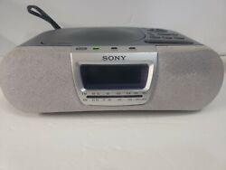 Sony Dream Machine ICF-CD830 Alarm Clock Radio CD Player Used - Tested