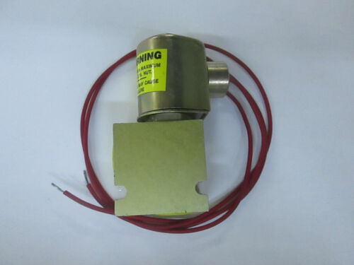 Eaton Modular Controls Solenoid Valve SV4-10-0-4-12DL 12V Body# 20054A