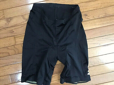 Mens Black CANARI Cycling Shorts  Large L ~ Biking Bicycle Bike Riding (T8-19)