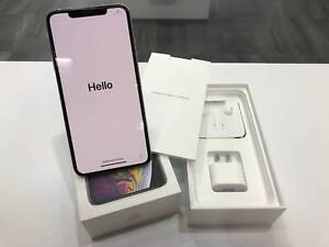 Mint Condition iPhone Xs Max 256GB Silver unlocked tax invoice Surfers Paradise Gold Coast City Preview