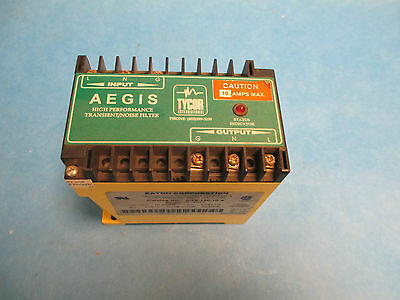 Eaton Transient Voltage Surge Suppressor Ags-120-10-x 10a 120v 1ph Used