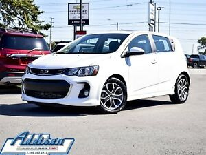 2018 Chevrolet Sonic LT Hatch RS PKG True North Sunroof Alloys
