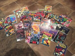 Lot of 37 Marvel and DC comics