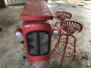 Tractor table and chairs
