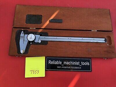 American Made Starrett 12 Inch Dial Caliper Model 120 Machinist Tools T353