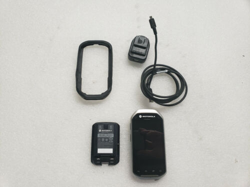 Zebra Symbol Motorola MC40 Barcode Scanner with Charging Cable and Case
