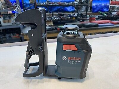 Bosch GLL 2 Self-Leveling Cross-Line Laser Level with Mount 253040
