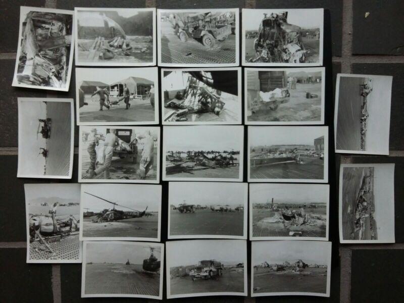 Original Vietnam War Photos USMC Battle of Marble Mountain Air Field 1965 DaNang