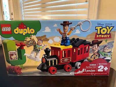 LEGO Duplo Toy Story Train Set 10894 Disney Pixar Toddler Preschool Woody Train