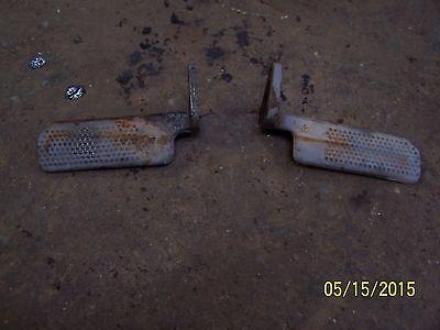 Mf Massey Ferguson 65 Tractor Pair Of Footrests