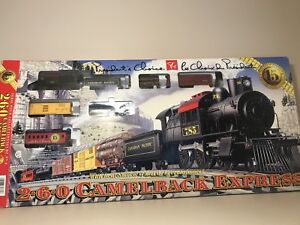 2-6-0 Camelback Express train set. $100 or trade for N scale set