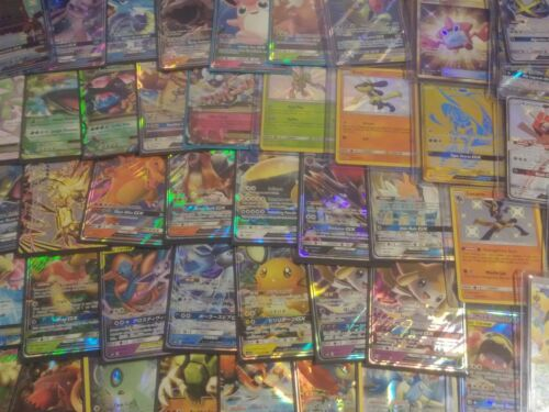 Pokemon Premium Mystery Repack ~ All Holo ~ Gx + Full Art Every Pack ~ 10+ Cards