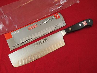 Wusthof Classic 7 inch Hollow Ground Nakiri Knife, 4193/17 - *New, Vegetable - Hollow Ground Vegetable Knife