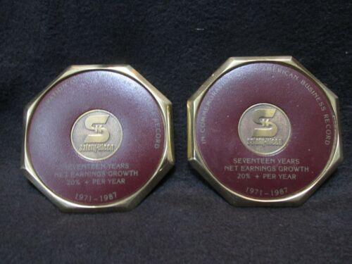 Vintage Safety Kleen Commemorative Coasters 1987