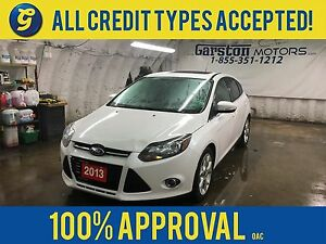 2013 Ford Focus TITANIUM*NAVIGATION*POWER SUNROOF*LEATHER SEATS*