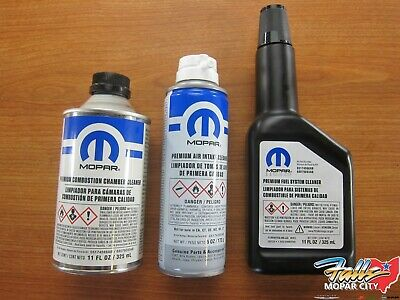 Combustion Cleaner - Fuel Cleaner Kit With Combustion Chamber Fuel System & Air intake Cleaner