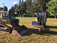 Excavation and Grading Services.