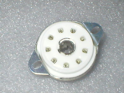 B9G valve tube sockets for EF50 etc