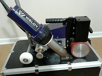 Weldy Roofer Rw3400 Hot Air Welder Robot Made By Leister Similar Varimat V2 Bak