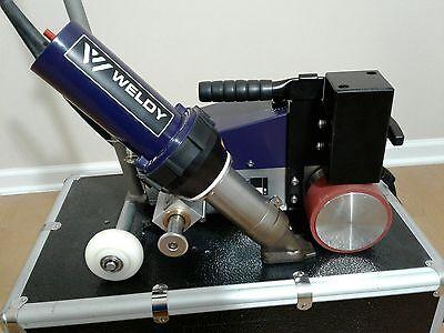 Weldy Roofer RW3400 Hot Air Welder Mechanical man Made by Leister similar Varimat V2 BAK