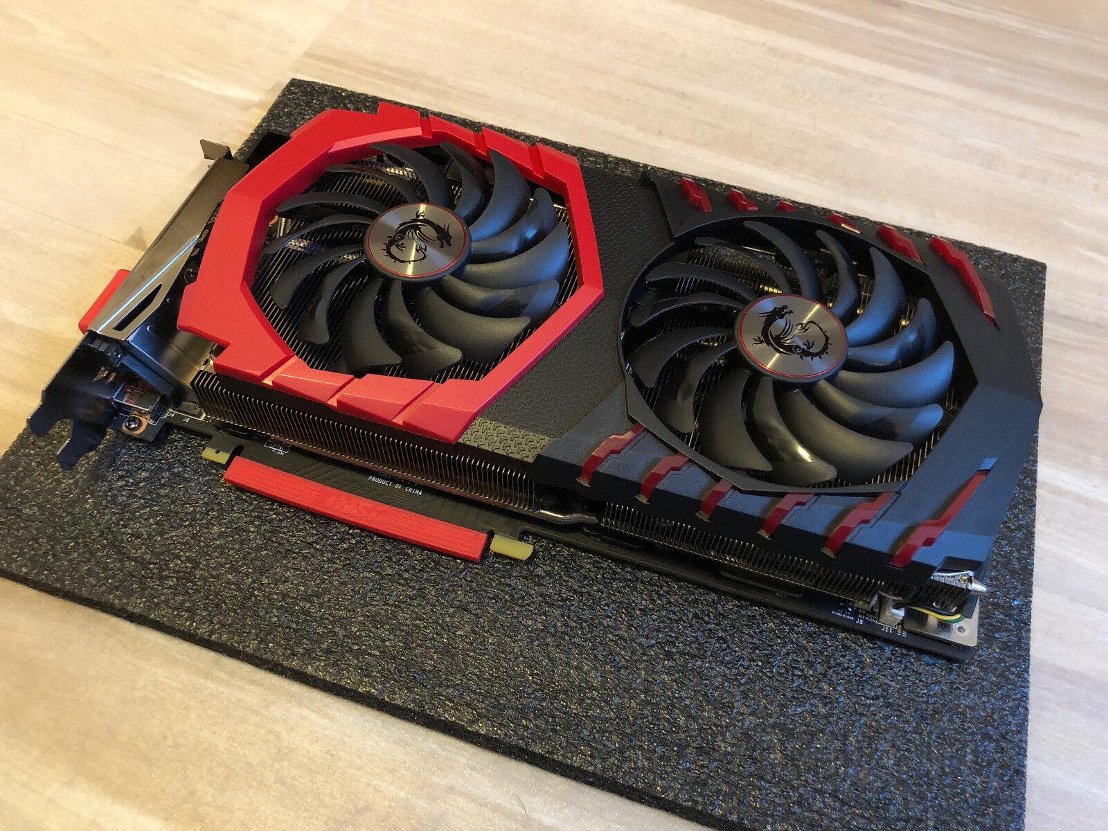 MSI GeForce GTX 1080 Ti Gaming X 11GB GDDR5X +++ Restgarantie bis 02.08.2020+++