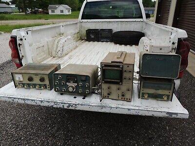 Lot Of Ham Radio Heathkit Model 10-102 Oscilloscope Sb-600 Vfo Hg-10 Sb-303
