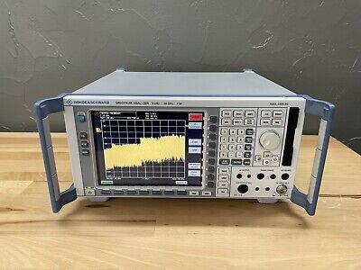 Rohde Schwarz Fsp30 20 Hz - 30 Ghz Spectrum Analyzer
