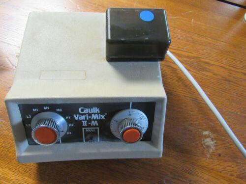 Caulk Vari-Mix II-M Dental Amalgamator - Tested - Works Well !!!