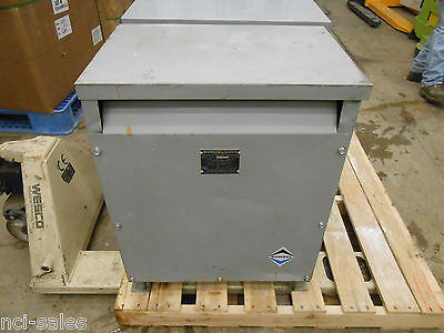 Sorgel Electrical Corp. 45t3h Three Phase Insulated Transformer 45kva
