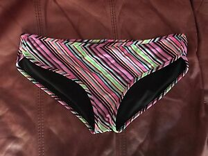 Victoria's Secret New striped bathing suit bikini   Medium