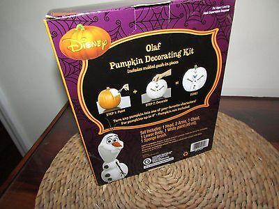 Olaf - Disney's Frozen - Halloween Pumpkin Decorating Kit Paint & Brush - Pumpkin Push Pins