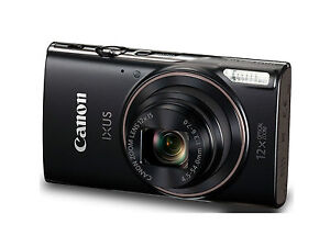 Canon-IXUS-285-HS-Black-with-Wifi-amp-NFC-amp-8GB-Memory-Card-amp-Camera-Case-SMP6