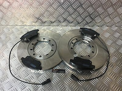 Ford Transit TDCi MK7 LWB FWD Rear Brake Discs and Pads with SENSORS