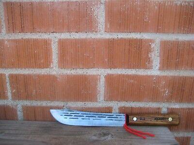 "Vintage 7"" Blade *** SHAPLEIGH *** Small Carbon Steel Butcher Knife USA"