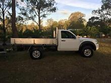 2007 Ford Ranger Ute and tilting car trailer for sale Hillcrest Logan Area Preview