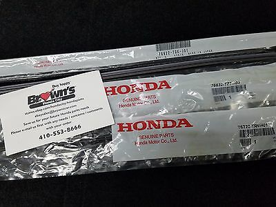 NEW GENUINE HONDA CR V FRONT  REAR WIPER REFILLS  INSERTS 2017  CRV