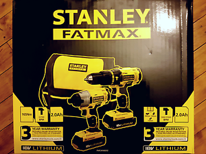 Impact Driver and Drill Set Stanley Fatmax 18v  New Sutherland Sutherland Area Preview