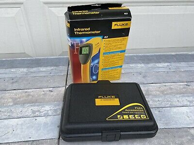 Brand New Fluke 63 Ir Infrared Thermometer With Original Retail Box