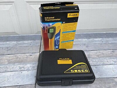 Brand New Fluke 63 Ir Infrared Thermometer With Original Retail Box