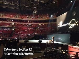 Bruce Springsteen SYDNEY TICKETS CLOSEST TO STAGE ROW F Huntleys Point Hunters Hill Area Preview