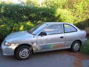 1995 Hyundai Excel, 117,000km. Golden Square Bendigo City Preview
