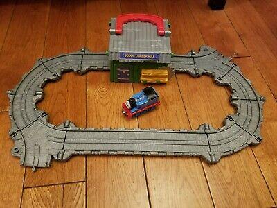 "Thomas & Friends Take-n-Play Train Set: ""Thomas at The Sodor Lumber Mill"" Used"