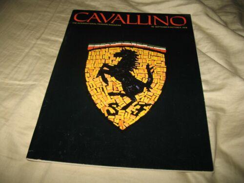 Cavallino magazine original #1 Ferrari