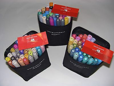 Delta Marker SET's A+B+C = alle 120 Farben + 3 x Manga Blocks A4 Superqualität!!