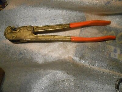 Vintage Thomas Betts Wt115 Stakon Terminals Crimper Tool