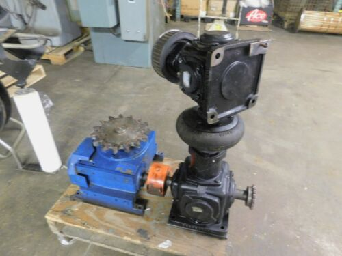 Cleveland & Perfection Worm Gear Belt Drive Assembly