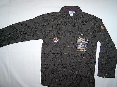 tolles Hemd Totenköpfe Disney Mickey`s Creepy Halloween C&A Gr. 122 fast neu gebraucht kaufen  Hamburg