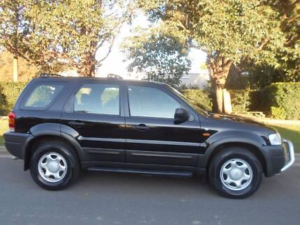 2005 Ford Escape Wagon XLS AUTO 99,000 KM 4X4 Homebush Strathfield Area Preview