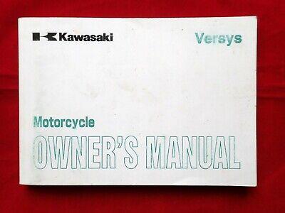 2006 KAWASAKI VERSYS OWNERS MANUAL 99986-1358 2007 KLE650A/B